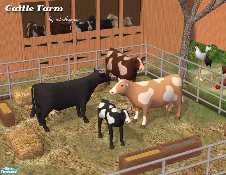 Windkeeper's sims 2 downloads 'farm'.