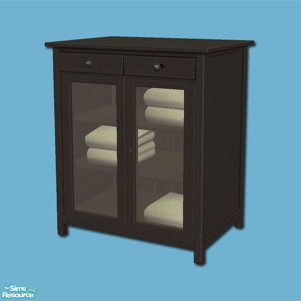Ikea Kinderbett Doppelstock ~ shakeshaft's Hemnes Add ons  Linen Cabinet  Black