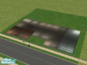 Sims 2 — Bare Basic Starter 2br by oldmember_demfichar — This is from my bare basic's starter collection. Here Is my 2
