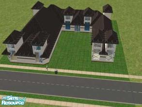 Sims 2 — Bare Basic's Starter 3br by oldmember_demfichar — This is from my bare basic's starter collection. Here Is my 3