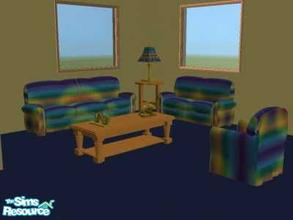 Sims 2 — Happy Living by chrisfp — A happy recolor of basic game. I hope your sims enjoy. No need mesh. No EP.