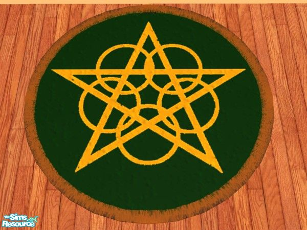 Lovely Pentacle Rug