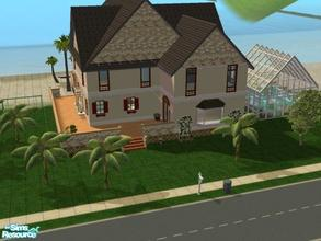 Sims 2 — Living on the Ocean...STUNNING! by hesmylobster2 — Beautiful beach home.Plenty of space for children and large