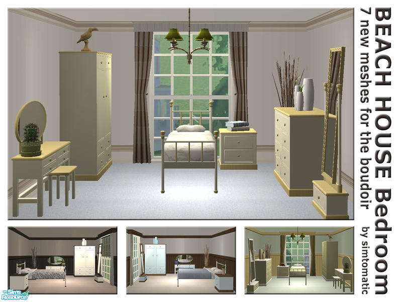 simtomatic 39 s beach house bedroom set