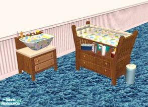 Downloads sims 2 sets objects 39newborn39 for Sims freeplay baby bathroom