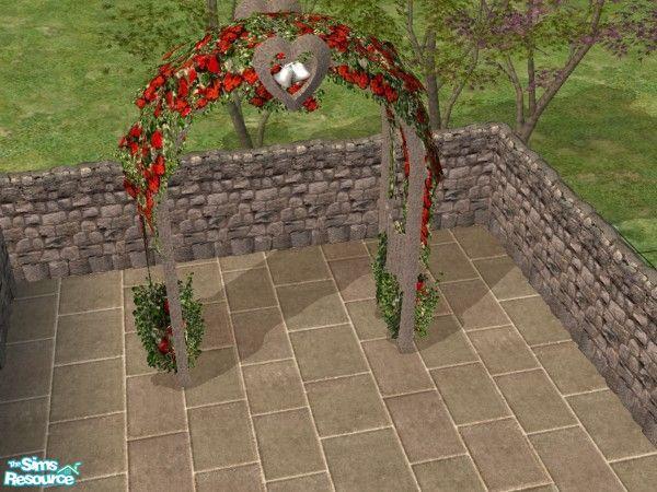 c literati s garden wedding arch