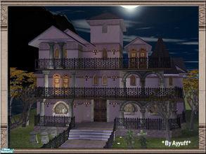 "Mod The Sims - CC Free Antebellum Plantation aka ""The Haunted Mansion"""