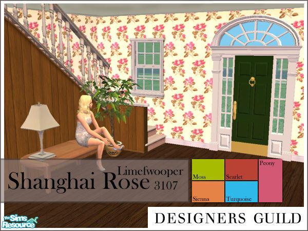 Limefwooper's Designers Guild 'Shanghai Rose'
