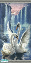 Sims 2 — Swans by abagail — Swans for the Walls,