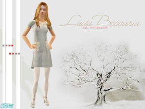 Sims 2 — Luisa Beccaria Fall Winter 2008 by lemonloveshane — Beautiful dresses in the most calm colours; that is how I\'d