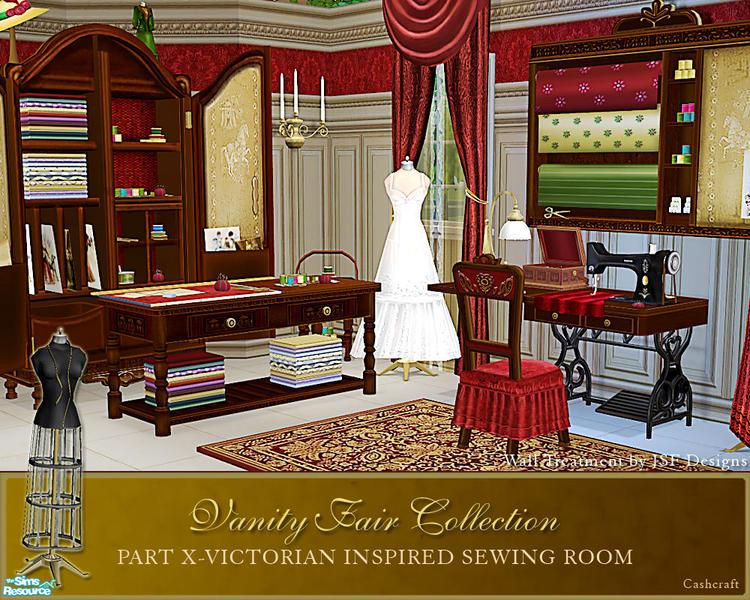 Cashcraft S Vanity Fair Sewing Room