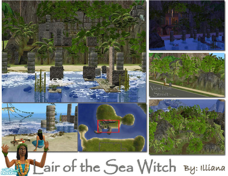 how to become a witch in sims 2