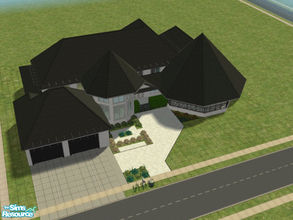 Sims 2 — 131028 by brittie — A spaciously designed home. Features: Foyer, Great room, Dining room, Kitchen w/ breakfast