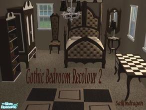 Gothic Bedroom Recolour 2 Part 81