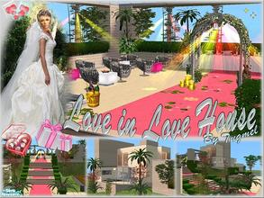 "Sims 2 — Tgm-Lot-40 (Furnished)  by TugmeL — ""You can married your sims in this house and live in it, do you want"