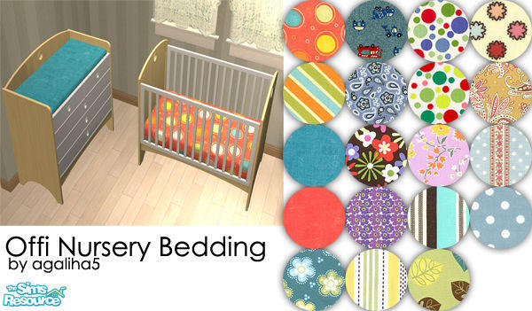 Agaliha5 S Offi Nursery Bedding Recolors