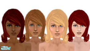 Sims 1 — Helen by siyang2 — A new head for girls! All skin tones, even pale! (Pale is considered as light skin tone)