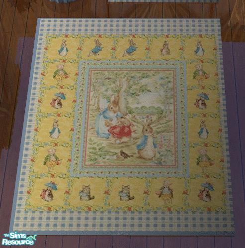 lisa9999 s baby boy s beatrix potter room 3x2 area rug