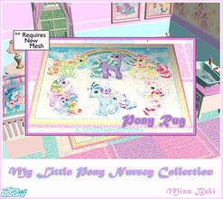 My Little Pony Rug