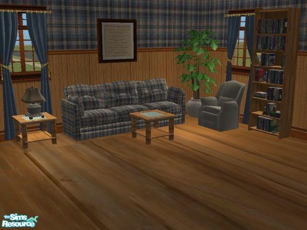 Mightyfaithgirl 39 S Barn Wood And Plaid Country Livingroom Set