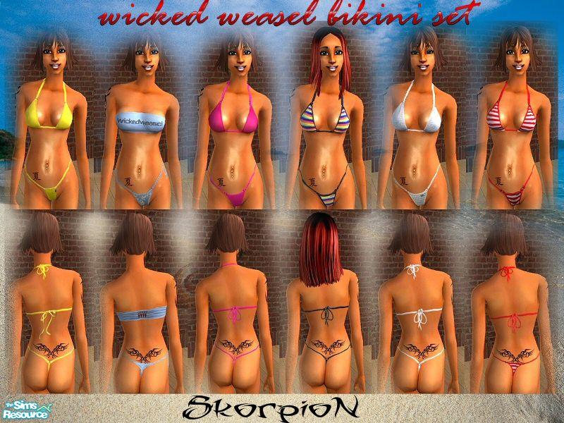 Weasel wicked Extreme bikini