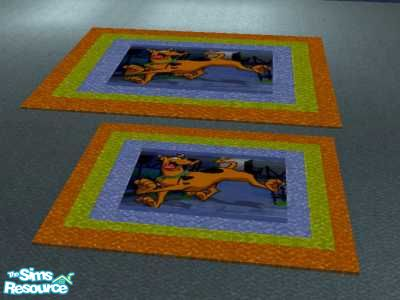 Exceptional Scooby Doo Bedroom Rug Set