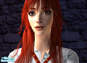 Sims 2 — Ginny Weasley by airbornepigez — Fom Harry Potter! No meshes needed.