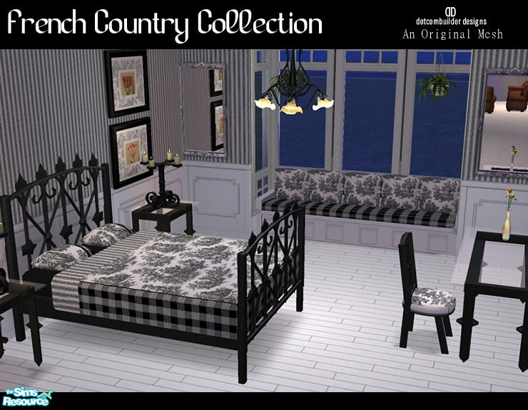 Dotcombuilder 39 S French Country Collection