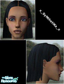 X Synthetika X S Teen Hair Tucked Behind Ears
