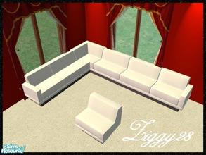 Downloads sims 2 objects furnishing seating for Sectional sofa sims 3