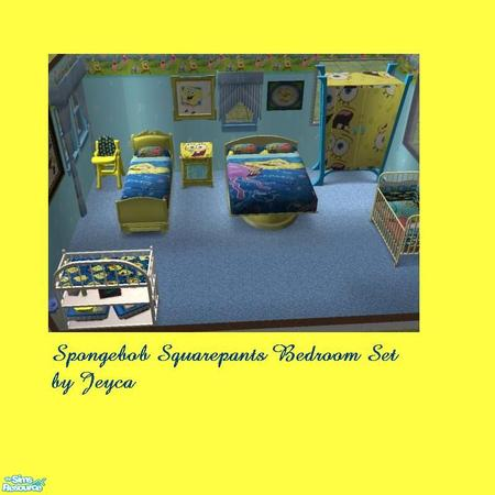 jeyca s spongebob squarepants bedroom set