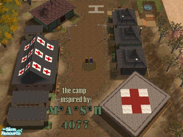 Ninapinacoladas Mash 4077 Camp
