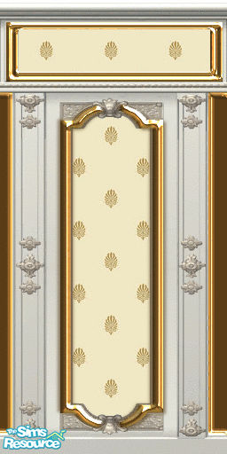 Zillah S Creme De Rococo Wall