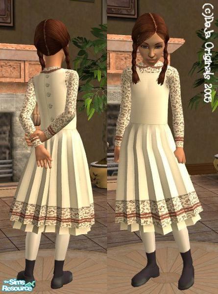 Dejavudu S Victorian Prairie Dress Child