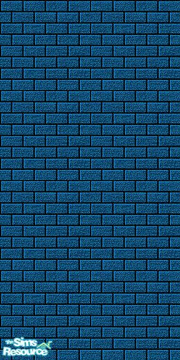 Uma design 39 s navy blue brick wall for Navy blue wallpaper for walls