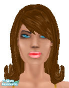 Sims 1 — Lady Elegante by Annual — A Lady that cares about herself! Pretty blue eyes, fantastic make-up and adjusted