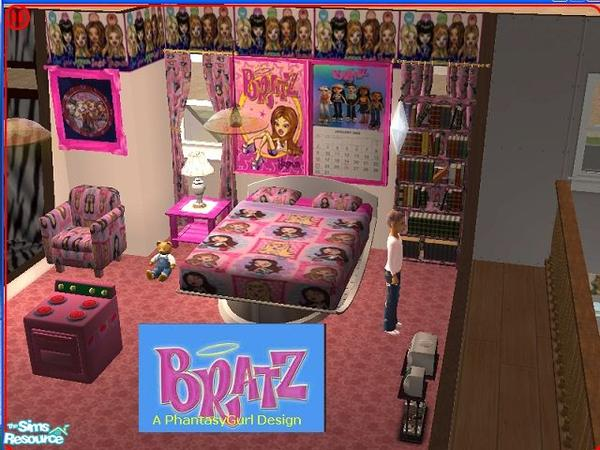Phantasygurl S Bratz Little Girl S Bedroom