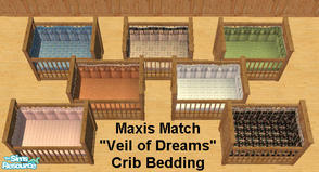 Free downloads / sims 2 / sets / objects 'crib bedding'.