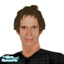 Sims 1 — Adam Kane by frisbud — Adam Kane, as portrayed by actor John Shea, from the syndicated television show Mutant X.