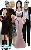 Sims 1 — Monsters by DOT — A Halloween treat. Lgt Skin Tone. Yvonne De Carlo passed Jan. 8 2007 :(