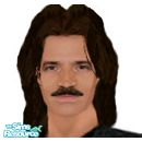 Sims 1 — Yanni by frisbud — Musician, and recently turned author, Yanni. Done by request.