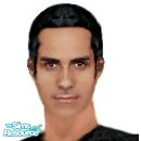 Sims 1 — Sonny by frisbud — Sonny Corinthos, as played by actor Maurice Benard, from the daytime drama General Hospital.