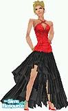 Sims 1 — Chaacha by TSR Archive — Your Sims will dance the cha-cha with style and charm in this dress. Head not included.