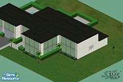 The sims 1 modern houses