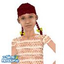 Sims 1 — Charlene by QAmazon — Charlene lives on a farm. Her parents gave her lots of pets including a puppy, two cats,