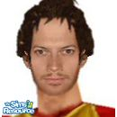 Sims 1 — Ioan Gruffudd by frisbud — Actor Ioan Gruffudd, as Lancelot from the movie King Arthur, as requested in the TSR