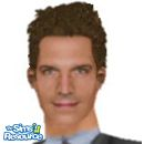 Sims 1 — Michael Vaughn by frisbud — CIA Agent Michael Vaughn, as portrayed by actor Michael Vartan, from the hit