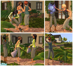 Sims 2 — Sweat it out!! by Nanshi — I don\'t know about you but I used Confide\'s lovely sweats mesh on most of sims. So