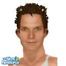 Sims 1 — Cole Hauser by frisbud — Actor Cole Hauser, most recently seen in the television show E.R.