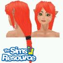 Sims 1 — Lina by TSR Archive — Pretty redhead fairy elf. Lina loves flitting from flower to flower bouncing of the soft